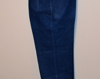Vintage Levi Jeans Pleats and Peg Leg Ladies 1980's