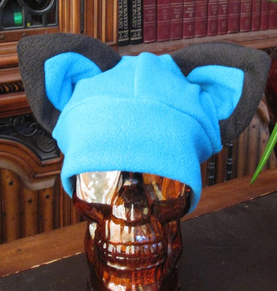 New Alola Forms Water Electric Pichu fleece ear hat in 6 sizes