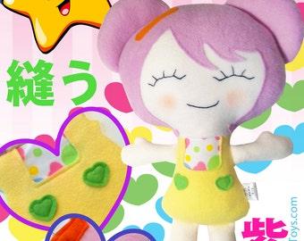 Murasaki Cloth Doll Pattern
