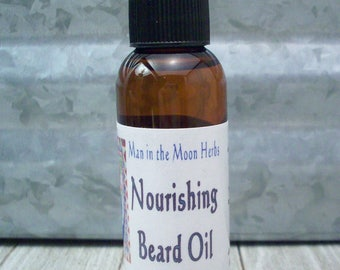 Nourishing Beard Oil - Mens Grooming - Facial Hair Care - Beard Conditioner