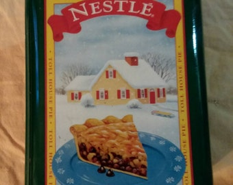 Nestle toll house tin can