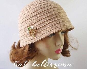 SALE  1920's  Hat Vintage Style hat winter Hats hatbellissima ladies hats millinery hats