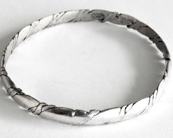 Vintage Mexican Sterling Bangle
