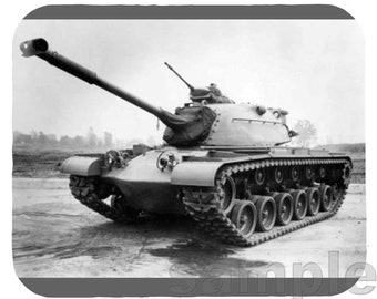 Mouse Pad; M48A1 Patton Tank