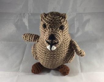 Bhuvan the Beaver (Stuffed Animal)