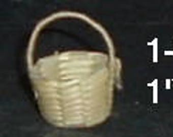"Miniature BASKET - 1-1/4"" H  X  1"" W"