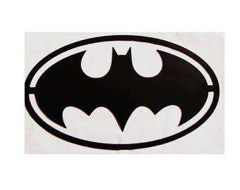 Metal BATMAN Sign Justice League Super Hero Superhero Logo justice league gift Metal superhero sign  superhero gift Batman decor batman sign