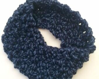 Chunky Knit Slim Cowl
