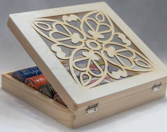 Wood Box/ Laser cut