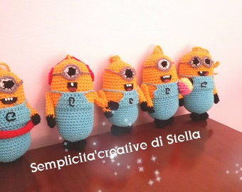!!! Crochet Minions Gift idea