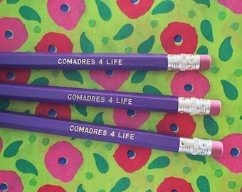 Comadres 4 Life Pencil Set