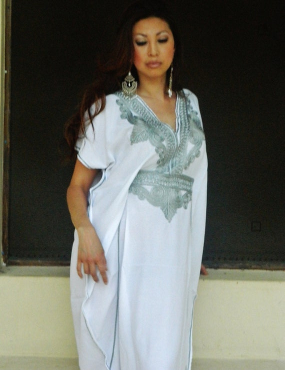 Caftan Marrakech Style-loungewear,resortwear, beachwear, great for Birthdays, Honeymoon or Maternity Gifts, Ramadan, Eid