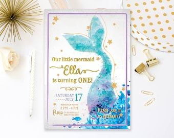 Mermaid party decorations printables mermaid party supplies mermaid birthday invitation printable mermaid invitation mermaid invitation birthday mermaid party invitation filmwisefo Gallery