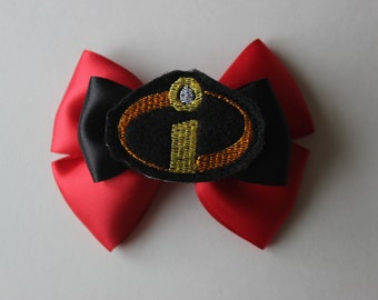 Incredibles Superheroes Inspired Bow