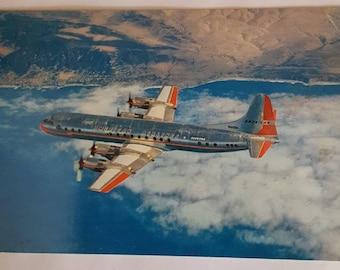 American Airlines Vintage Postcard