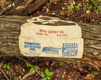Wolf Supply Company nail apron