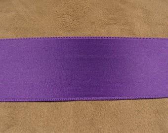 SATIN Ribbon - 4 cm - purple