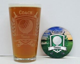 Golf, Golf Coach gift, Golf gift, Coaches gift, Golf Coaches Gift, Golf gift set, High School golf