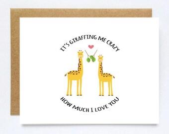 Card for Boyfriend, Love Card, Funny Anniversary Card, I Love you Card, Funny Anniversary Card, Cute Love Card
