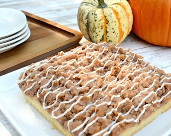Pumpkin Spice Crumb Cake, Fruit Cake, Luxury Cake, NY Coffee Cake, Gourmet Cake, Sweet Treats, Cinnamon Cake, NY Crumb Cake,