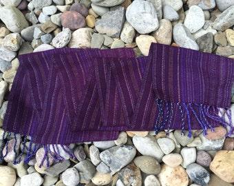 Luxury Handwoven Scarf Tencel Cotton