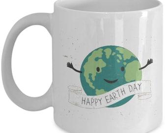 Happy Earth Day Coffee Mug Gifts idea