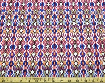 Tribal Diamonds Swimwear Fabric