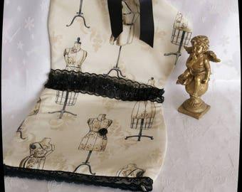 Lingerie - zeer originele modellen - - beige en zwart thema Kit