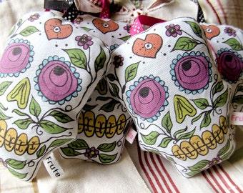 Sugar Skull Lavender bag, candyskull lavender sachet aromatic, day of the dead, home decor