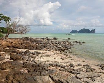 Nature photography,Fine Art Print,Phi Phi,Island,Beach,Wall Art,Travel Photography,Maadat,Tropical,Thailand,Ocean,4x6,8x12,12x18,16x24,20x30