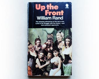 William Rand - Up the Front - Frankie Howerd comedy vintage paperback book - 1972