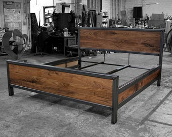 Kraftig Bed Number 4 with Side Rails