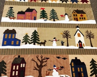 SALE-In the Meadow Applique Quilt Kit size 64x78