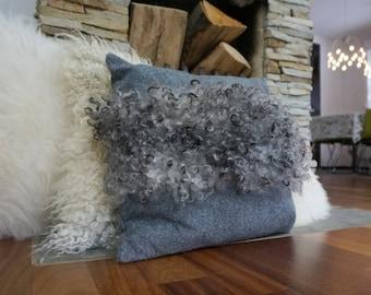 Grey floor cushion | Etsy