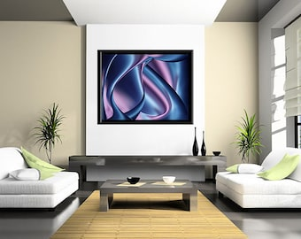 Abstract art, digital download, digital painting, decor, abstract painting,