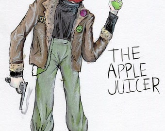 The Apple Juicer (ORIGINAL ART)