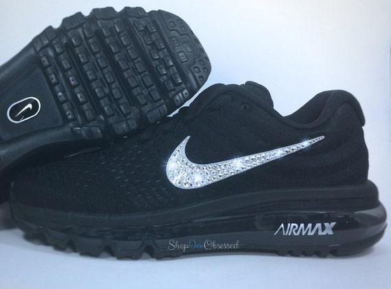 NEW Custom personalized Womens Nike Air Max Thea Running  Bling Roshe