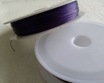 Purple wire / purple, very strong for jewelry & crafts 100 m approx.