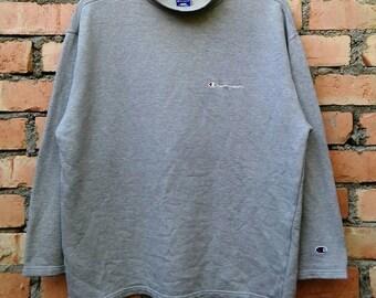 Rare!!! Champion Pullover Sweatshirt Large Size