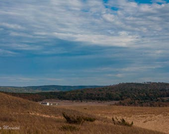 Farm View from Sleeping Bear Dunes