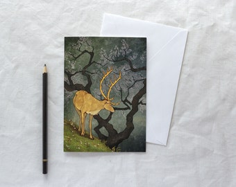 The Ceryneian Hind // Card
