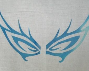 Butterfly Eyes Quilt Applique Pattern Design
