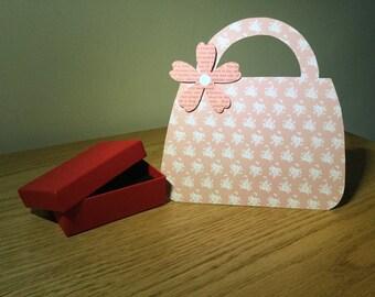 Handmade Cards - All Occasions - Handbag (3D Bag) Design - A027