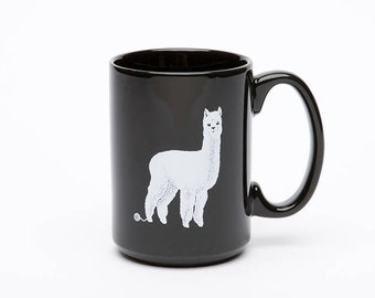 Llama Mug - Alpaca - Coffee Mug - Tea - Coffee Cup - Ceramic Mug