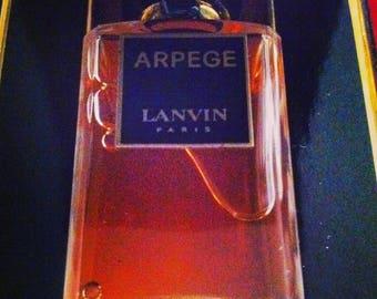 Arpege Perfume Parfum Extrait SEALED with BOX 20 ml Vintage Perfume Lanvin Perfumes French Perfumes
