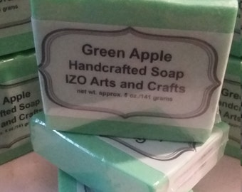 Green Apple Cold Process Goat Milk Soap