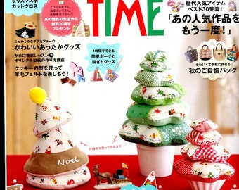 COTTON TIME November  2014 - Japanese Craft Book