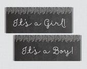 Chalkboard Printable Cand...