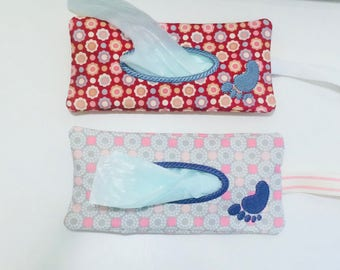 ITH Nappy Bag Bag Holder. 5x7 In The Hoop Diaper Bag Holder Project by Pixie Willow Patterns