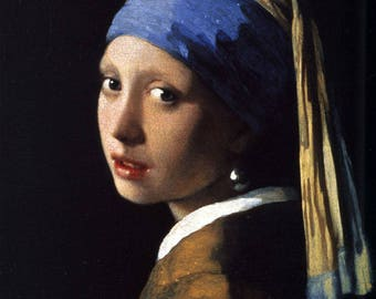 girl with a pearl earring johannes vermeer Oil painting portraits Landscape painting Gift for painting Decorative picture sitting room
